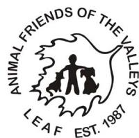 Animal Friends of the Valley